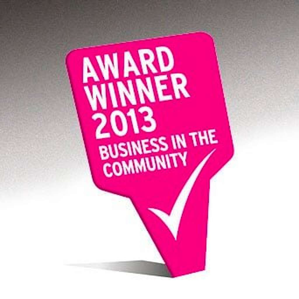 2014 Business in the Community Award logo