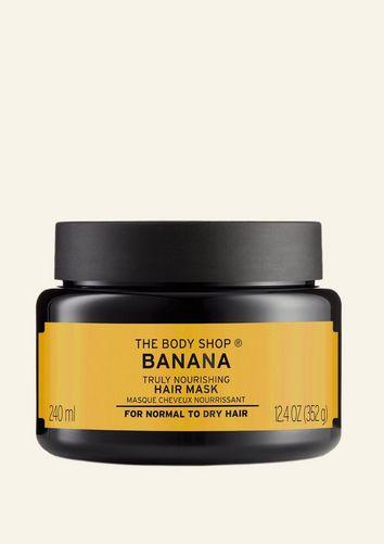 Banana nährende Haarmaske