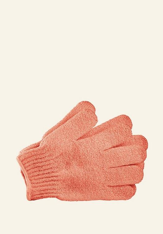 Bath Gloves Pink