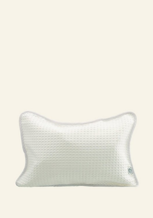 Bath Pillow - Inflatable: White