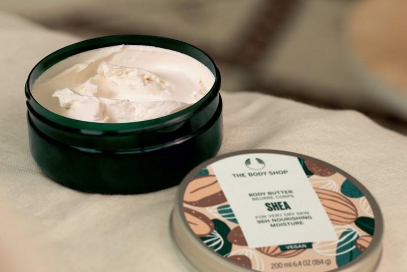 almond milk body butter