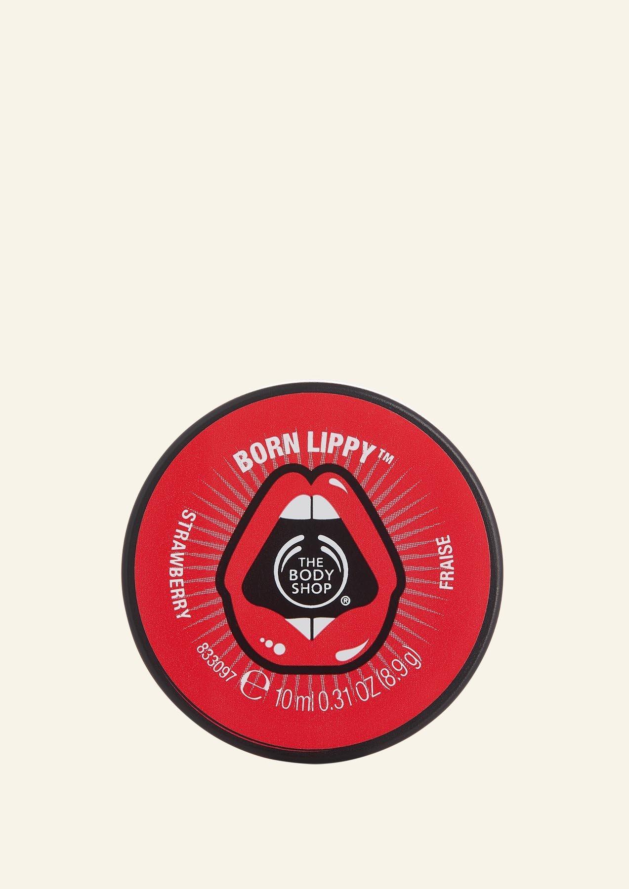 TBS Born Lippy Lip Balm The Body Shop