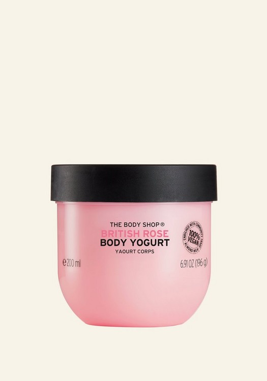 British Rose Body Yogurt 200ml