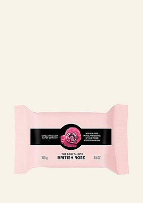 British Rose Exfoliation Soap