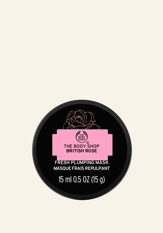 British Rose Fresh Plumping Mask 15ml