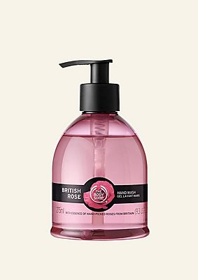 British Rose Hand Wash