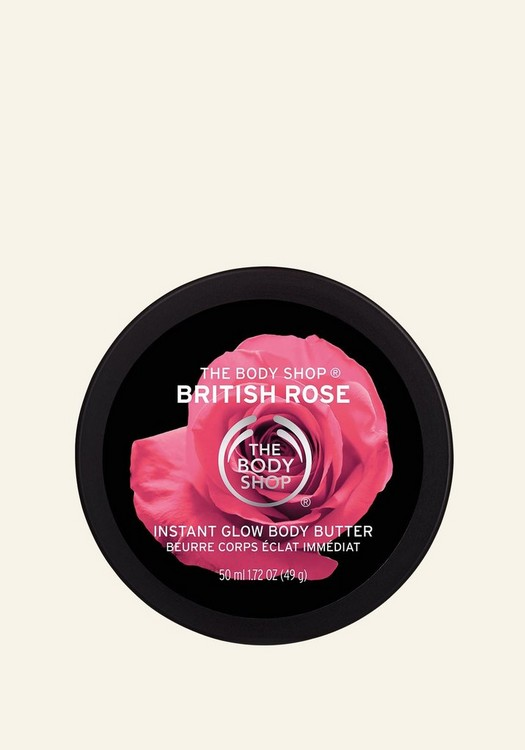 British Rose Instant Glow Body Butter 50ml