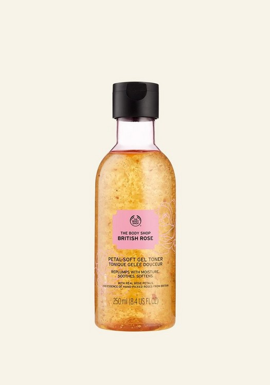 British Rose Petal-Soft Gel Toner 250ml