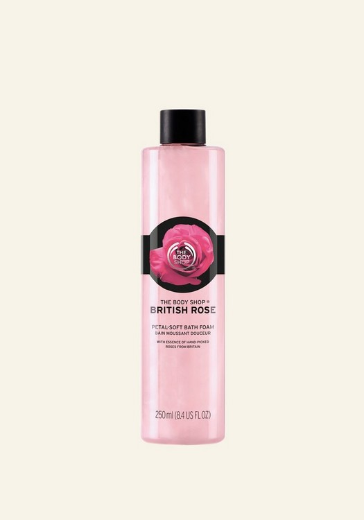 British Rose Petal-Soft Bath Foam 250 ML