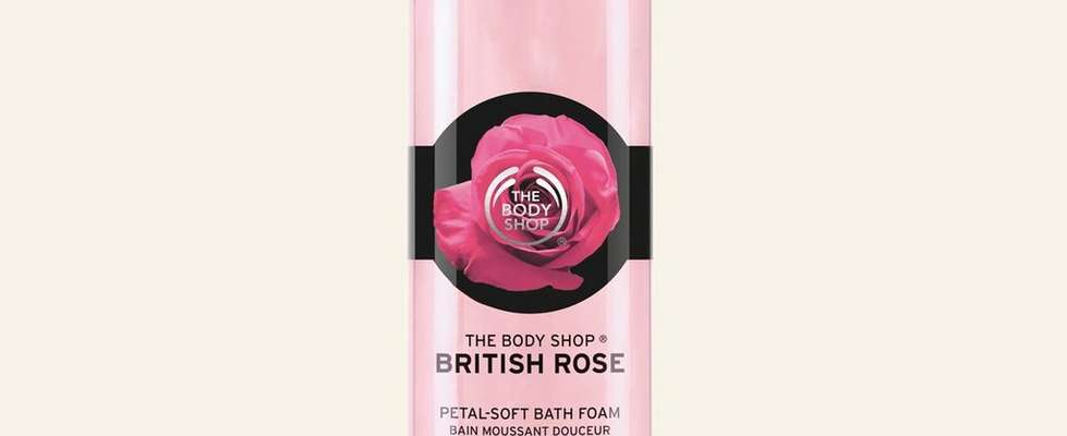 Bain moussant Rose anglaise sauvage The Body Shop