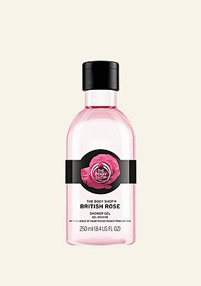 Gel douche British Rose
