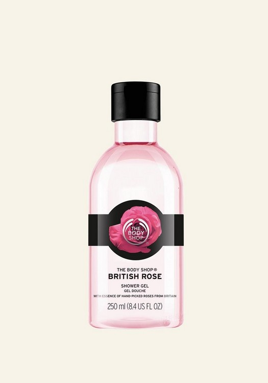 British Rose Shower Gel 250ml