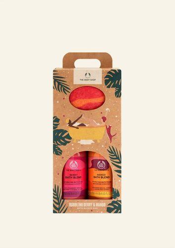 Bubbling Mango & Berry Bath Blends Duo
