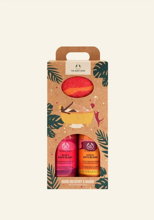 Coffret Bain Fruité Mangue & Fruits Rouges