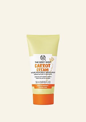 Carrot Cream Nature Rich Daily Moisturiser