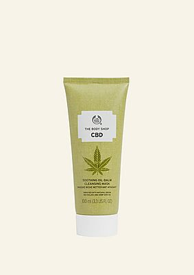 CBD Soothing Oil-Balm Cleansing Mask