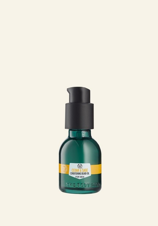 Cedar & Sage Conditioning Beard Oil For Men 30ml