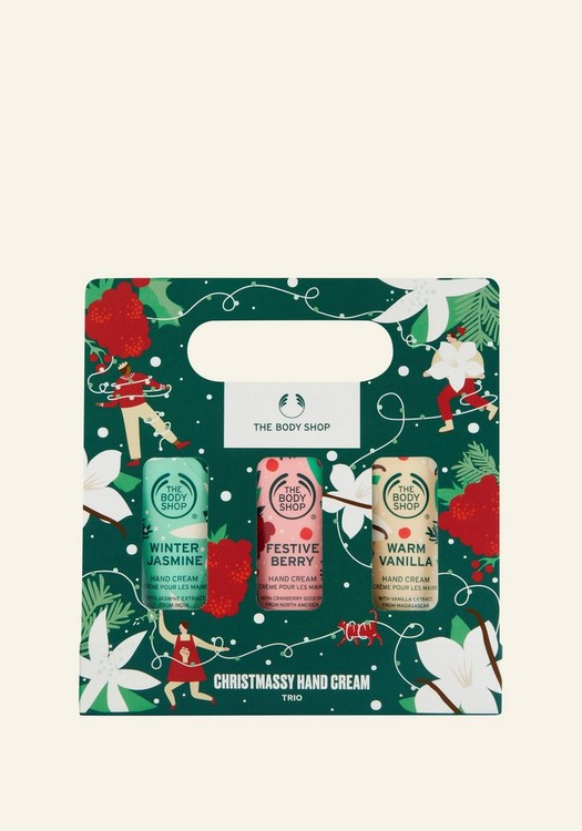 Christmassy Hand Cream Trio
