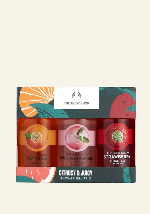 Citrusy & Juicy Shower Gel Trio
