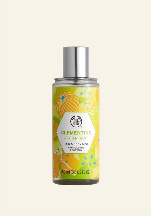 Hair & Body Mist de Mandarina y Carambola 150ml