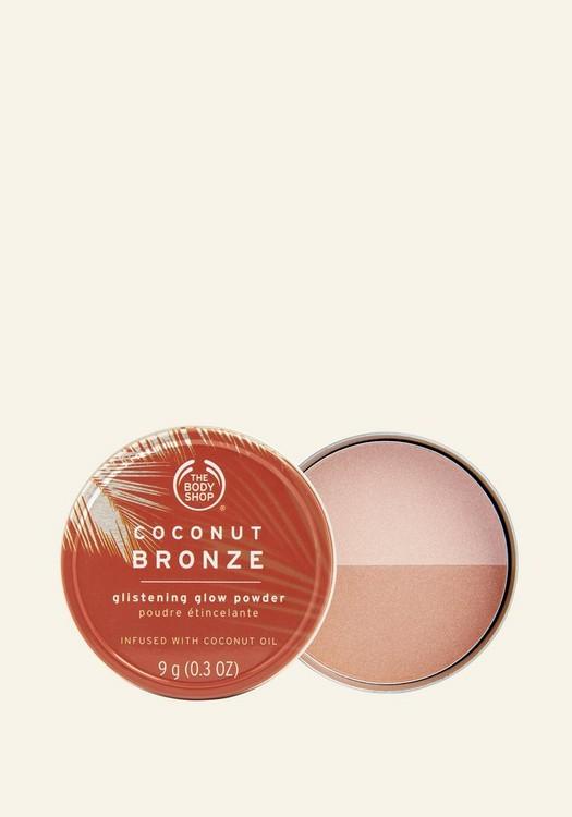 Coconut Bronze Glistening Glow Powder 9g