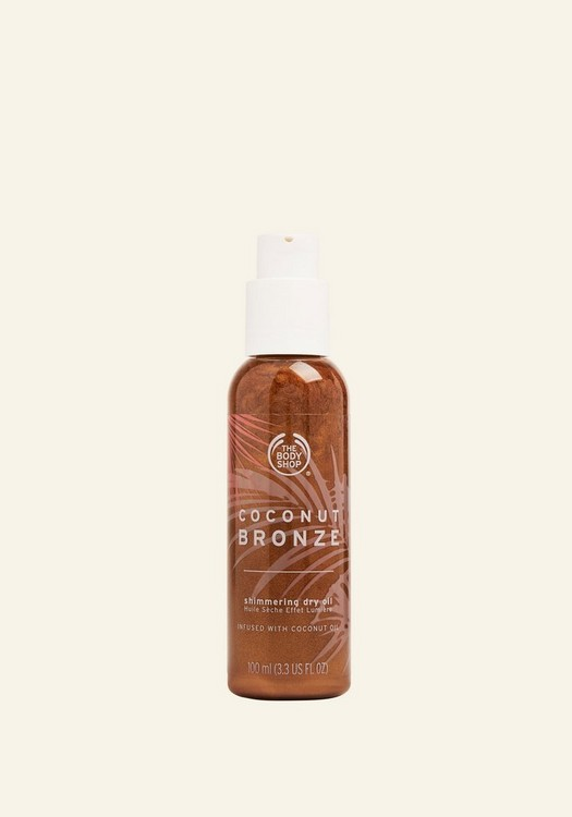 Coconut Bronze Shimmering Dry Oil 100ml