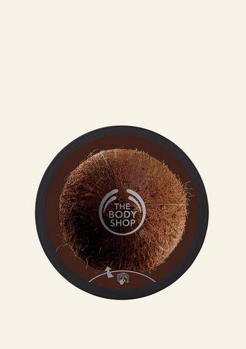 Gommage corporel exfoliant en crème à l'huile de noix de coco