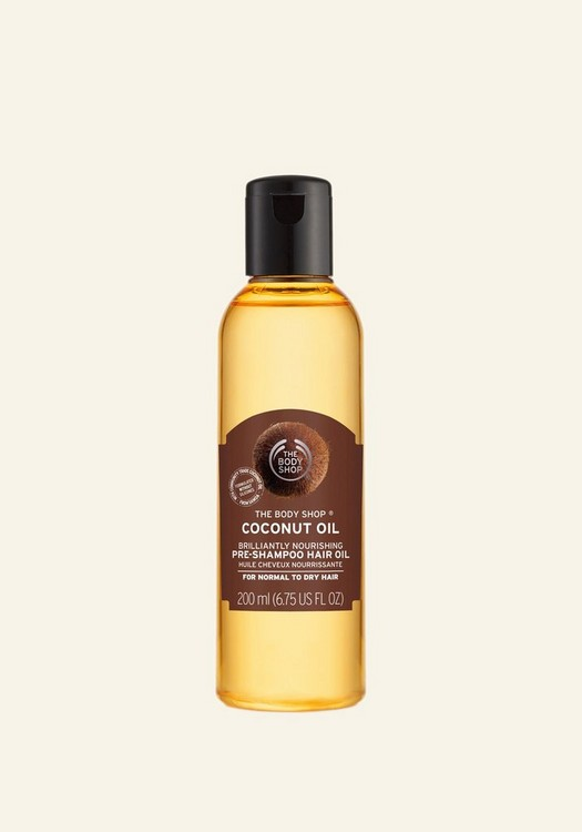 Coconut Oil Brilliantly Nourishing Pre-Shampoo Hair Oil 200ml