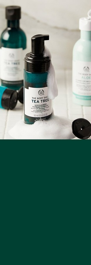 Tea tree toner and cleanser