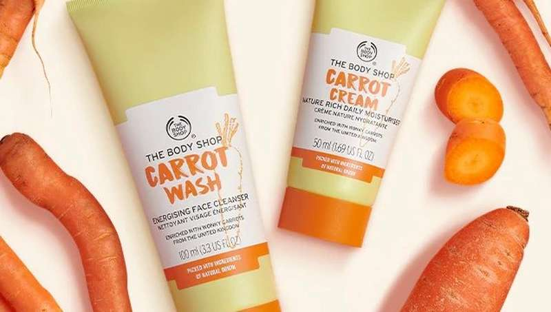 BODY SHOP CARROT WASH