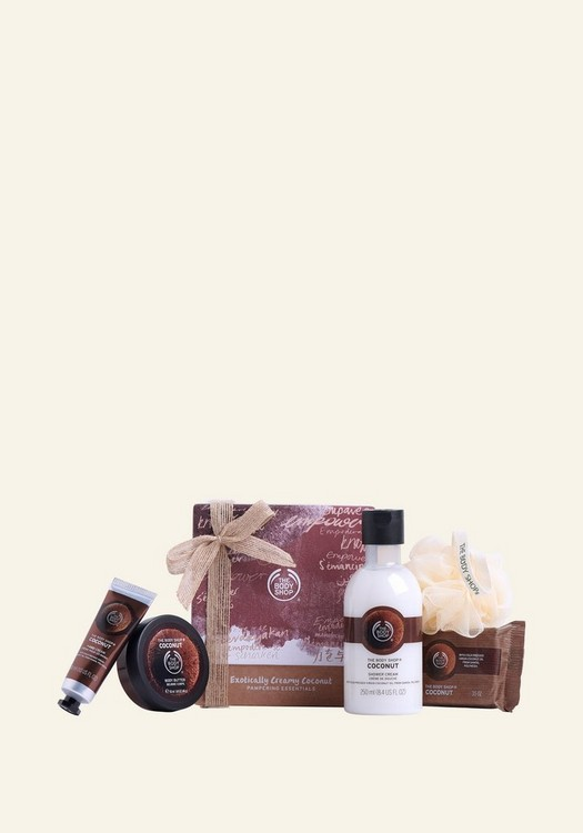 Exotically Creamy Coconut Pampering Essentials 1 Piece