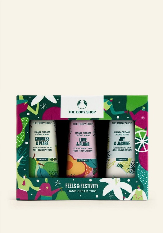 Feels & Festivity Hand Cream Trio