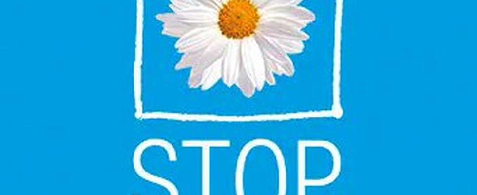 """Stop Violence in the Home""-Logo"