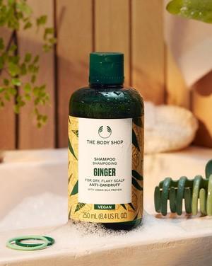 The Body Shop Ginger Shampoo