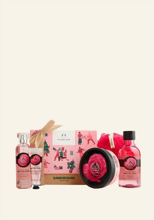 Glowing British Rose Big Geschenkbox