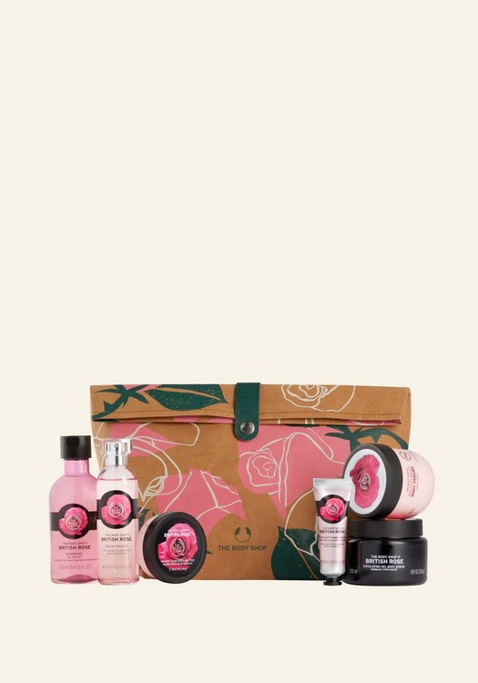 Glowing British Rose Ultimate Gift Pouch