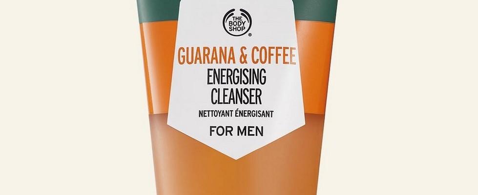 Nettoyant énergisant à la guarana et au café de The Body Shop