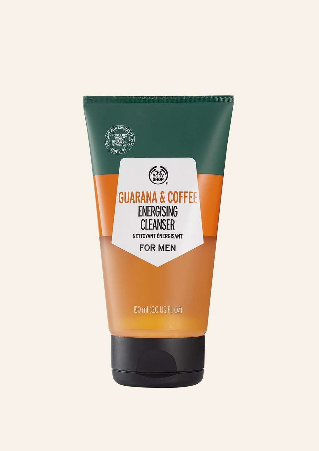 The Body Shop Guarana & Coffee Energising Cleanser