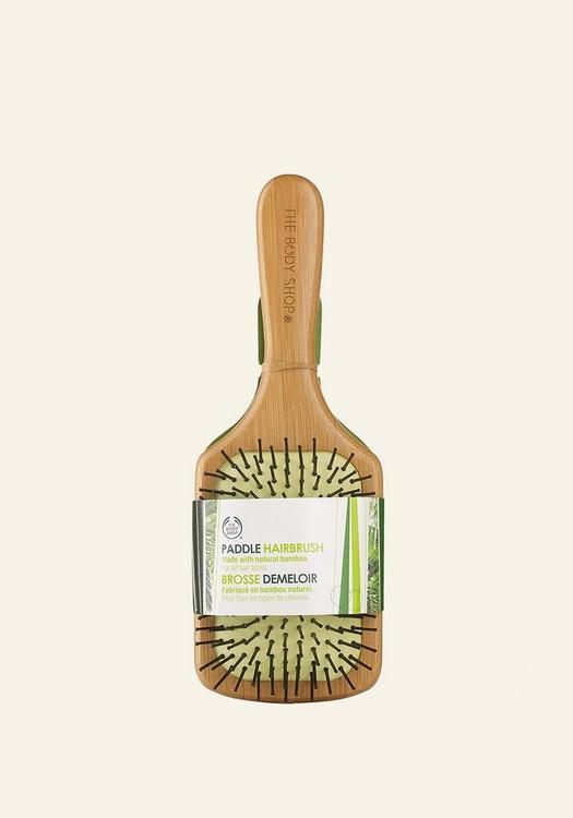 Large Bamboo Paddle Hairbrush