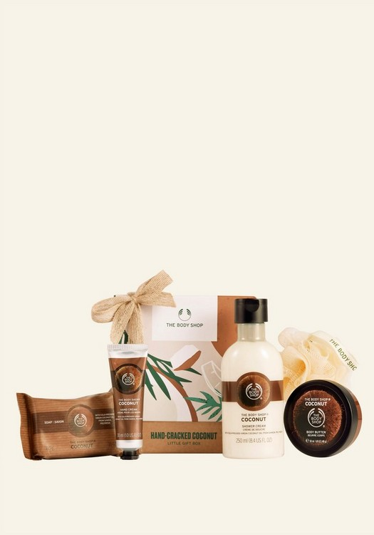 Hand-Cracked Coconut Little Gift Box