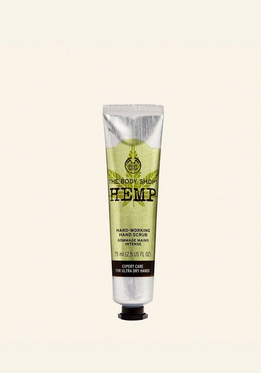 Hemp Hard-Working Hand Scrub 75ml