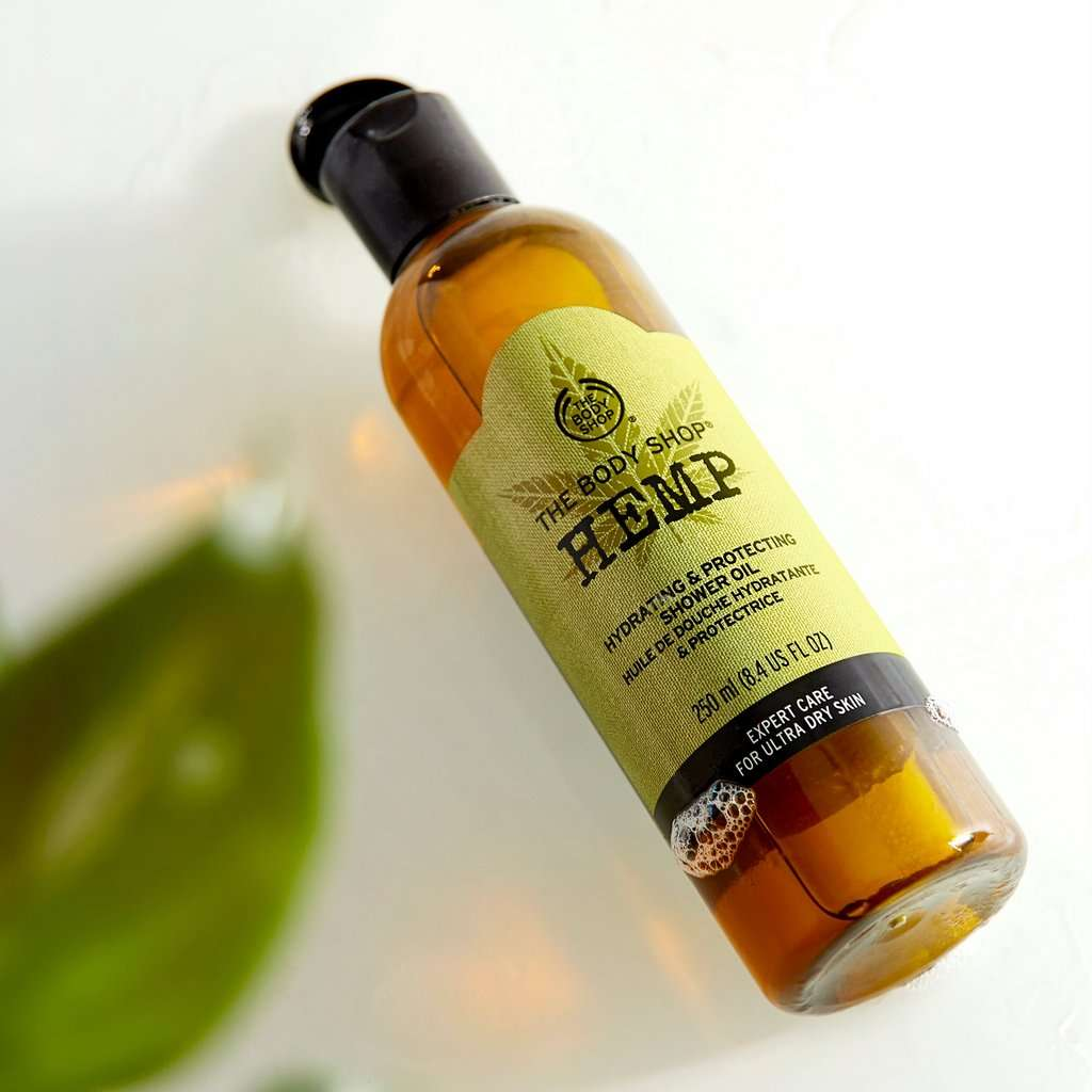 The Body Shop Hemp Shower Oil