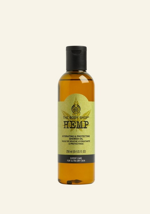 Hemp Hydrating & Protecting Shower Oil 250ml