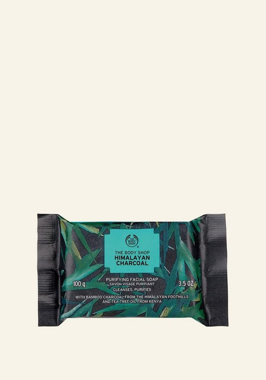 Himalayan Charcoal Purifying Facial Soap 100g