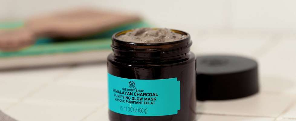 Masque Purifiant Éclat au Charbon de Bois de l'Himalaya The Body Shop