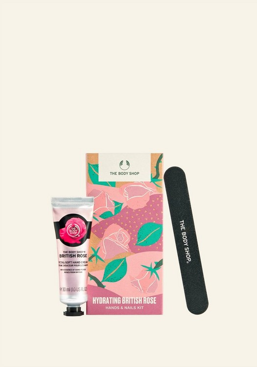 Hydrating British Rose Hand- & Nagel-Set