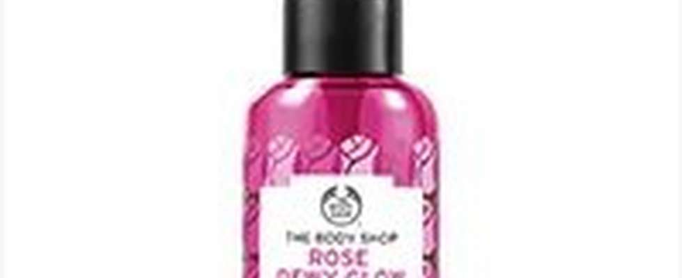 Brume pour le visage fraîche à la rose The Body Shop