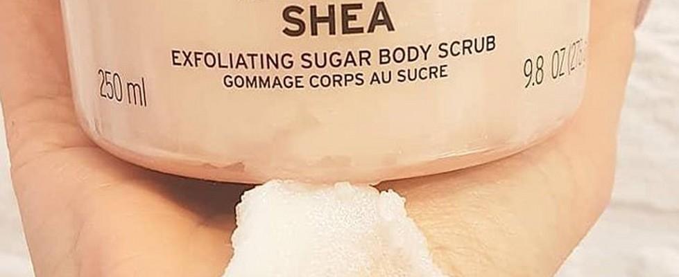Shea body scrub