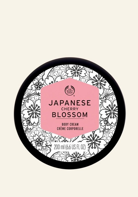 Japanese Cherry Blossom Body Cream 200ml