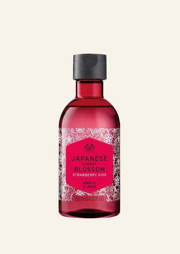 Japanese Cherry Blossom Strawberry Kiss Shower Gel
